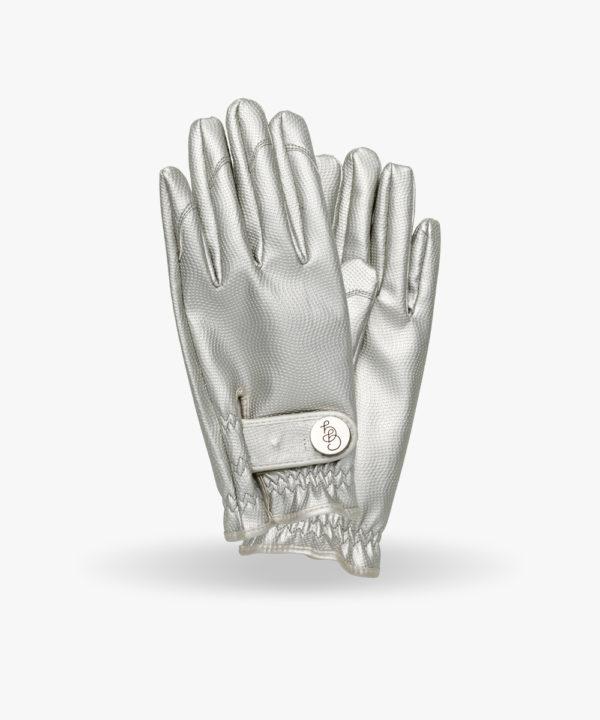gant jardinage argenté