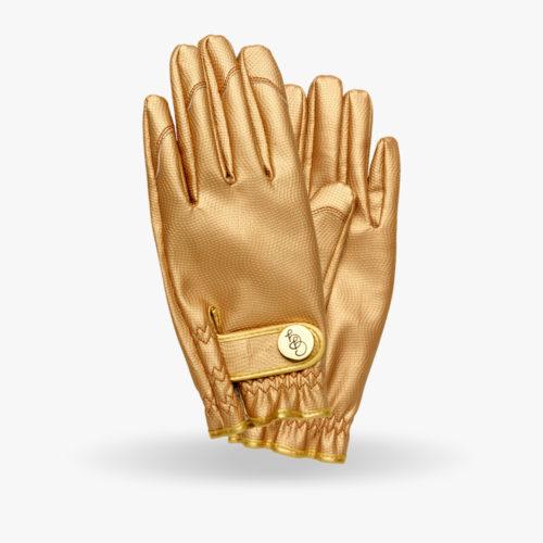 gant jardinage doré